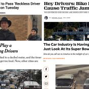 The Monday Roundup: Reckless driver crackdown, Frostbike, car control campaign, and more