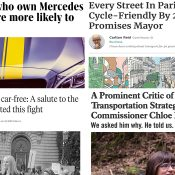The Monday Roundup: Oil ad ban, bike share bacteria, one less parking lot, and more
