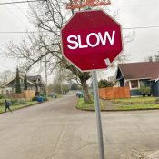 Slow then go: Checking in on Oregon's new stop sign law