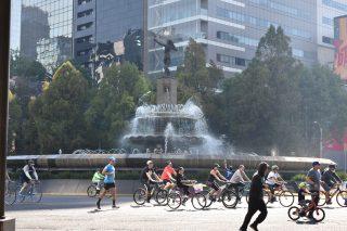 biking around El Ángel