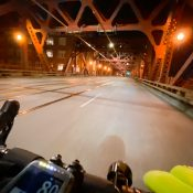 At night by bike, Portland's streets are a surreal dream amid the nightmare