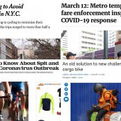 The Monday Roundup: Snot rocket etiquette, biking's surge, transit troubles, and more
