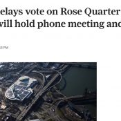 OTC raises legal questions with decision to hold key I-5 Rose Quarter meeting on the phone