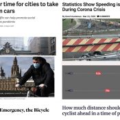 The Monday Roundup: Congestion eradicated, respect for bicycling, spreading cheer, and more