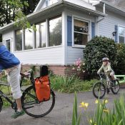 Guest article: Consider a practice bike ride to school on calmer streets