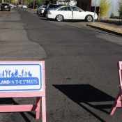Former Mayor, now council candidate Sam Adams thinks time is now to create more safe street space