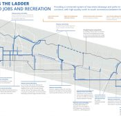 Columbia-Lombard plan draft includes new carfree bridge over I-5, extension of Columbia Slough path
