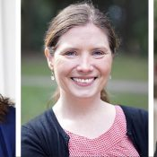 Candidates on Bikes: Tera Hurst, Julia DeGraw, and Sam Chase