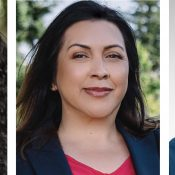 Candidates on Bikes: Candace Avalos, Carmen Rubio and Tim DuBois