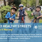 Seattle is making 20 miles of 'Stay Healthy Streets' permanent