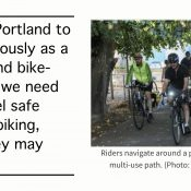 Comment of the Week:  Moderate position needed on safe cycling and homelessness issue