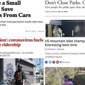 The Monday Roundup: 'Streateries', Everesting, micromobility highways, and more
