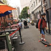 Portland's new business program will permit in-street commerce