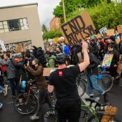 Bike and walk advocates join calls for major police reform