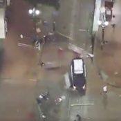 Portland Police officers drove SUVs into people on the street last night