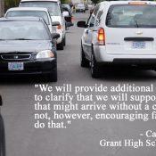"""Amid parent concerns, Portland Public Schools clarifies """"drive-thru"""" graduation policies"""