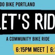 Let's Ride - A Community Bike Ride!