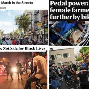The Monday Roundup: Safe streets for whom?, cars as weapons, the right to march, and more