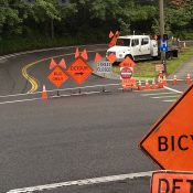 Heads up: Paving project impacts bike traffic on Terwilliger