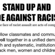 Stand Up And Ride Against Racism
