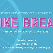 Bike Break - Biking tips and live Q&A