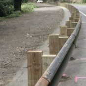Homeowners along Sandy River defend ODOT's bike-unfriendly guardrails
