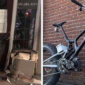 Thief rams northeast Portland bike shop with truck, makes off with prototype bicycle