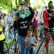Bike riders take note: Masks now required outdoors when close to others