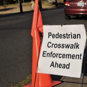 PBOT splits with Portland Police Bureau on crosswalk law enforcement program