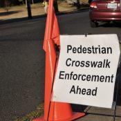 PBOT splits with Portland Police Bureau on crosswalk law enforcement program