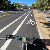 Car parking swapped for bike lanes on SE 136th as part of $6.7 million paving project