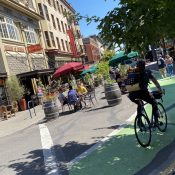 A photo gallery of Portland's new plazas and parklets