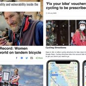 The Monday Roundup: Transit and Covid, bike maps, EV dreams, and more