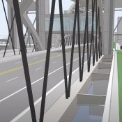 New concept drawings show future bikeway on new Burnside Bridge