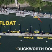 Duckworth Dock to get new bike parking area