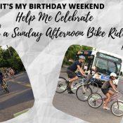 Birthday Community Bike Ride