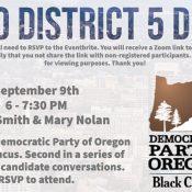 Metro District 5 Debate