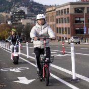 PBOT report finds bike infrastructure key to e-scooter usage