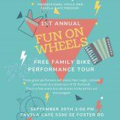 Fun on Wheels! A free family bike performance tour