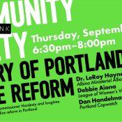 Rethink Community Safety: History of Portland Police Reform