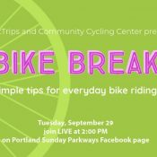 Bike Break – Biking tips and live Q&A