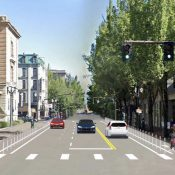 PBOT set to break ground on NW Broadway protected bike lanes