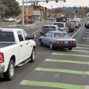 After feedback, PBOT will consider bike lane hybrid option on Hawthorne Blvd