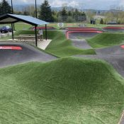 New, larger pump track coming to Gateway Green