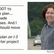 Metro candidate Mary Nolan's record on freeway expansion projects