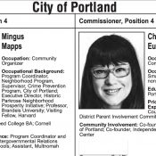 Election open thread: Chloe Eudaly or Mingus Mapps for City Council?