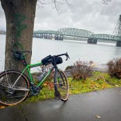 Exploring Vancouver's riverfront by bike