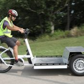 Portland parks bureau to test electric cargo trike in maintenance fleet
