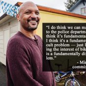 "'My bike is my car"": An interview with Portland City Commissioner-elect Mingus Mapps"