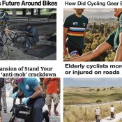 The Monday Roundup: Child traffic trauma, Bidens on bikes, cycling fashion, and more